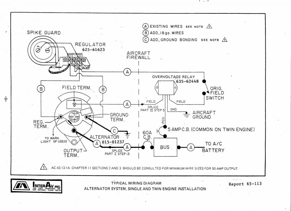 [DIAGRAM_38YU]  Cessna 180 - Split Master Switch - Backcountry Pilot | Cessna Alternator Wiring Diagram |  | Backcountry Pilot